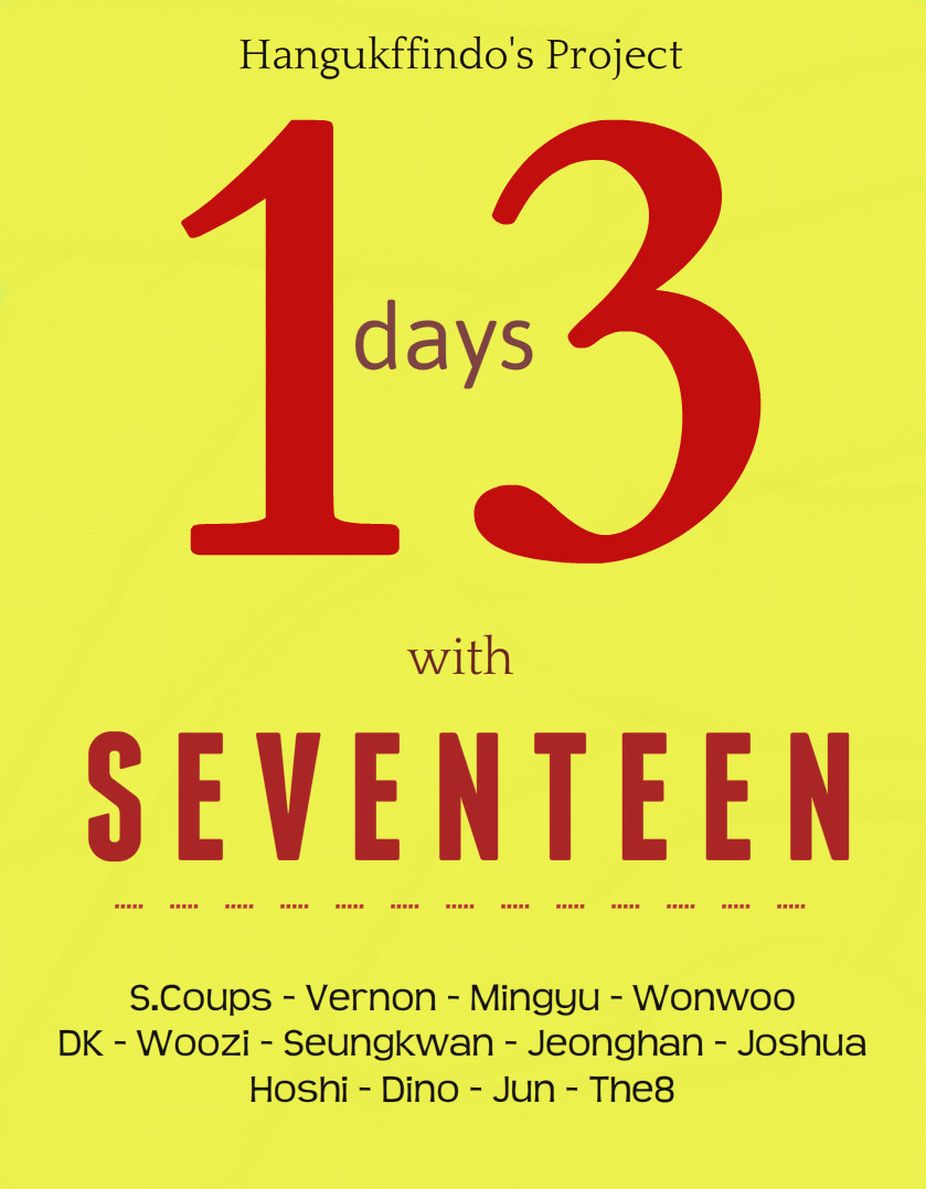 13 days with seventeen